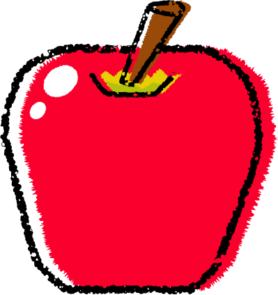 リンゴイラスト無料
