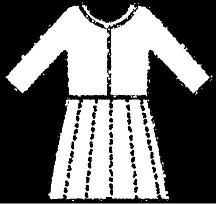 セレモニースーツイラスト白黒