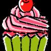 カップケーキイラスト無料素材3