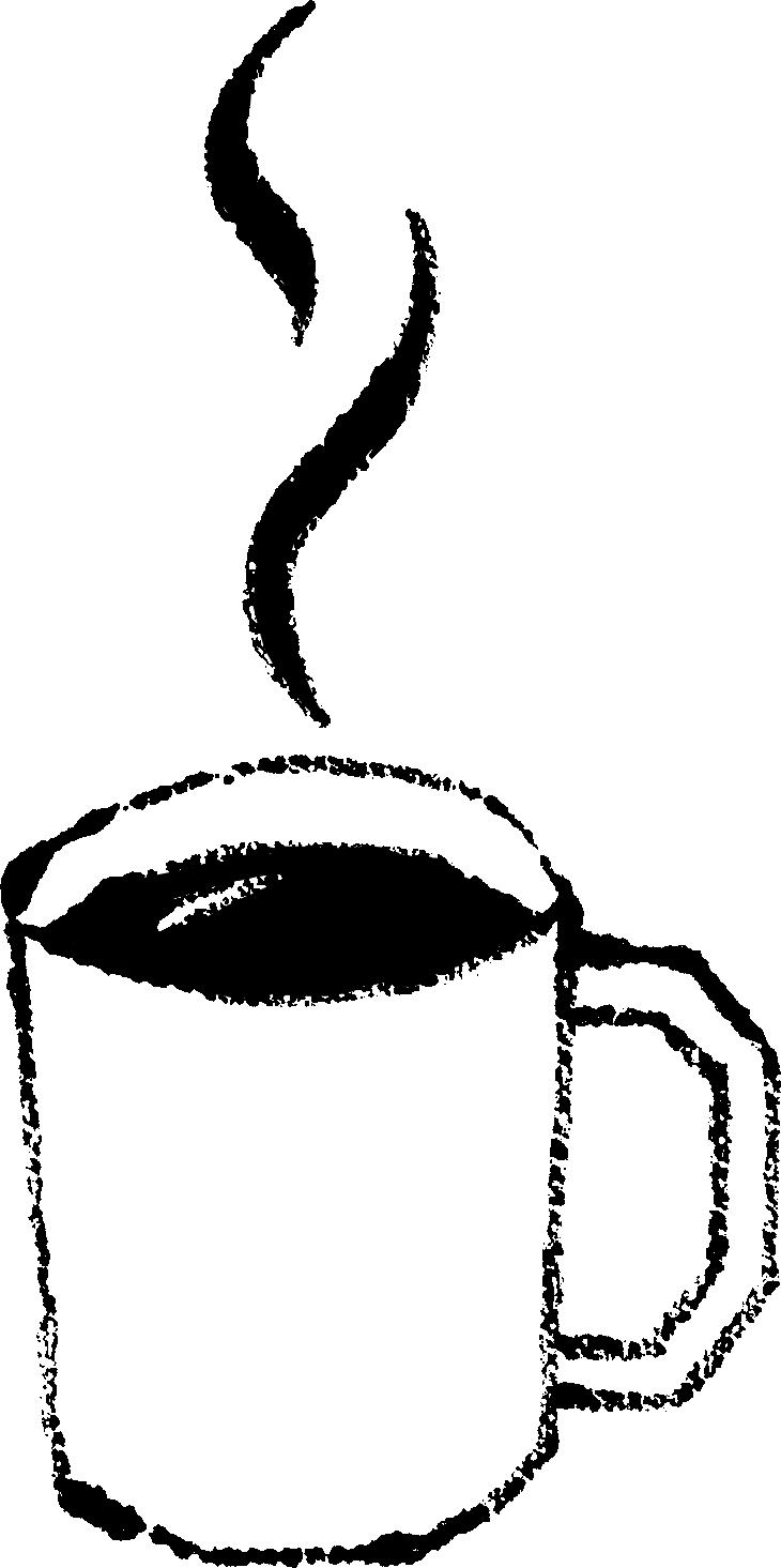 マグカップに入ったコーヒーイラスト無料素材