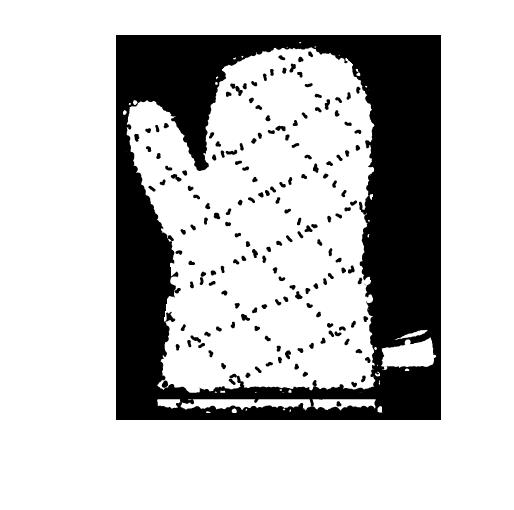 鍋つかみイラスト白黒