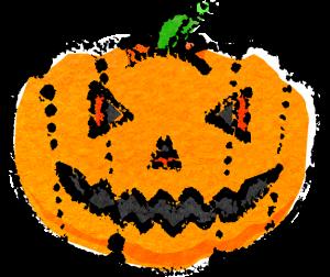 ハロウィンかぼちゃイラストおしゃれ