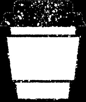 テイクアウトカップイラスト白黒