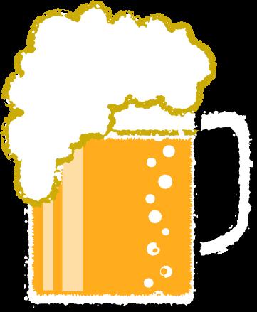 ビールイラスト無料素材
