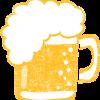 かわいいビールイラスト無料素材