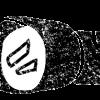 かわいい懐中電灯イラスト白黒無料素材