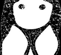 七夕織姫彦星イラスト白黒