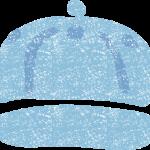 かわいいキャップ野球帽イラスト無料素材