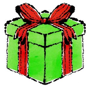クリスマスプレゼントイラスト無料