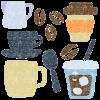 コーヒーイラストフリー素材