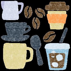 コーヒーイラストフリー無料