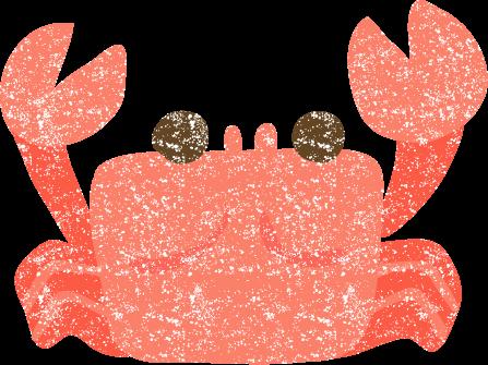 かわいい蟹イラスト無料素材