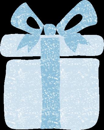 かわいいプレゼント箱イラスト無料素材