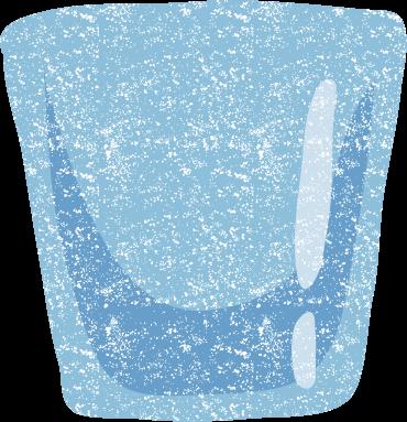 かわいいグラスイラスト無料素材