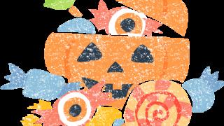 ハロウィンお菓子イラスト無料素材