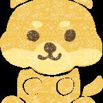 かわいい柴犬イラスト無料素材