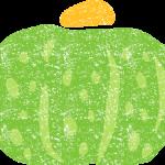 かわいいかぼちゃイラスト無料素材