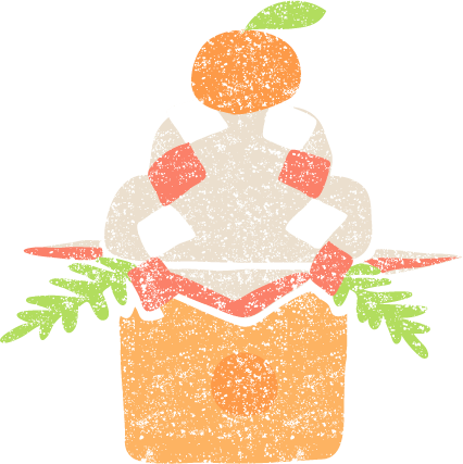 かわいい鏡餅イラスト無料