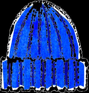 かわいいニット帽イラスト無料素材