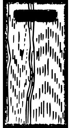 かわいいまな板イラスト無料素材白黒