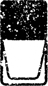 かわいいネイルマニキュアイラスト無料素材白黒