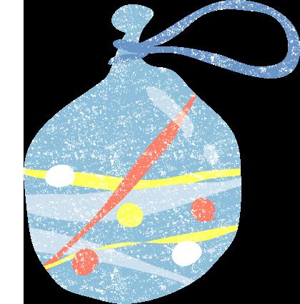 かわいい水風船イラスト無料素材