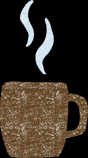 かわいいマグカップコーヒーイラスト無料素材