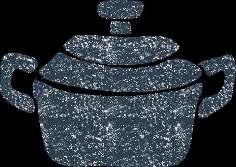 鍋イラスト無料かわいい