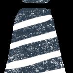 かわいいネクタイ無料イラスト素材