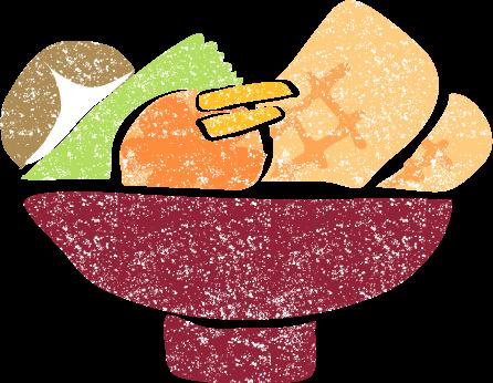 かわいいお雑煮イラスト無料素材