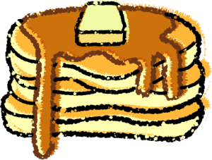 パンケーキイラスト無料