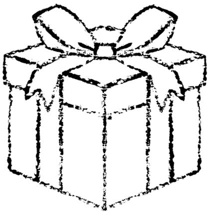 かわいいプレゼントボックスイラスト無料素材