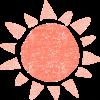 かわいい太陽無料イラスト