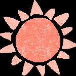 かわいい太陽無料イラスト素材