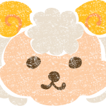 かわいい羊イラスト無料素材