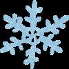 雪の結晶イラスト無料素材