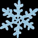 かわいい雪の結晶イラスト無料素材
