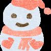 雪だるまイラスト無料素材
