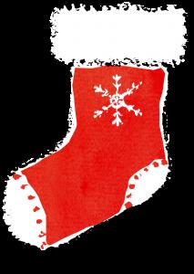 クリスマス靴下イラスト無料