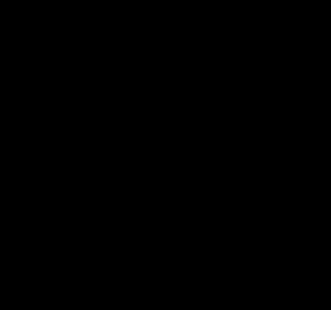 かわいいハロウィンクモイラスト白黒無料素材