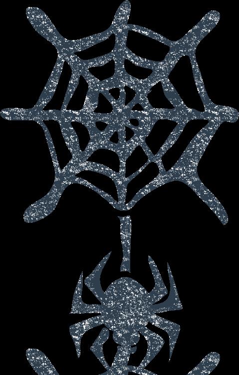 かわいい蜘蛛クモイラスト無料素材