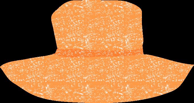 かわいい麦わら帽子イラスト無料素材