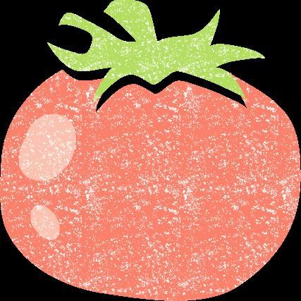 トマトイラスト無料かわいい