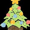 クリスマスツリーイラスト無料素材