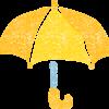 傘イラストフリー素材