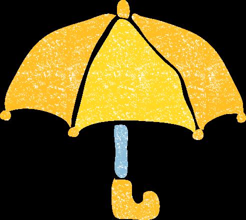 かわいい傘イラスト無料素材