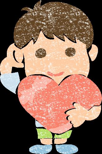 かわいいバレンタインデーイラスト無料素材