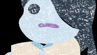 かわいいお化け幽霊イラスト無料素材