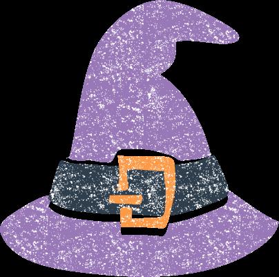ハロウィン魔女帽子イラスト無料