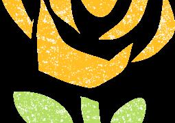 黄色いバライラスト無料素材
